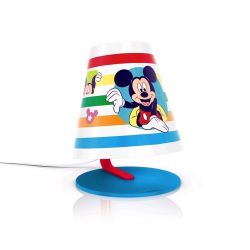 PHILIPS MICKEY MOUSE Lampa stołowa 1x3W SELV 71764/30/16