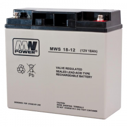MW POWER Akumulator AGM 12V / 18Ah