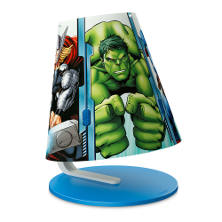 PHILIPS MARVEL AVENGERS Lampa stołowa 1x3W SELV 71764/35/16