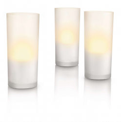 PHILIPS CANDLELIGHTS 3L Zestaw Lamp stołowych 69108/60/PH