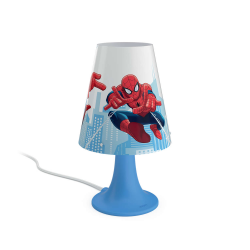 PHILIPS SPIDER-MAN Lampa stołowa 1x2.3W SELV 71795/40/16