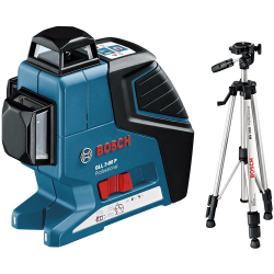 BOSCH GLL 3-80 P + BS 150 Laser liniowy 0.601.063.306