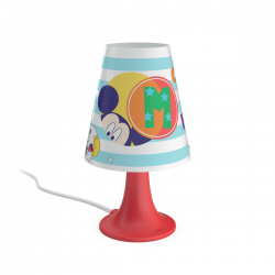 PHILIPS MICKEY MOUSE Lampa stołowa 1x2.3W SEL 71795/30/16